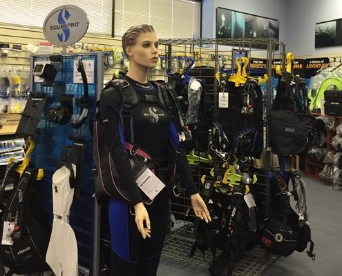 Service scuba equipment1