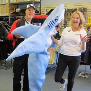 SharkLady300